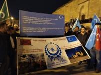 BÜLENT YıLDıRıM - Doğu Türkistan İçin 'Sessiz Çığlık' Yürüyüşü Yapıldı