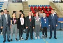 Erdek'te 'Liselerarası Badminton Turnuvası' Sona Erdi