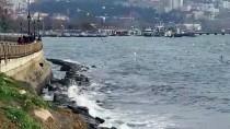 MARMARA DENIZI - Marmara Denizi'nde Lodos Ulaşıma Engel Oluyor