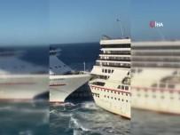 YOLCU GEMİSİ - Meksika'da İki Lüks Yolcu Gemisi Çarpıştı