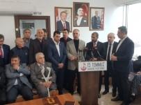 MHP'den 15 Temmuz Gazileri Platformuna Ziyaret