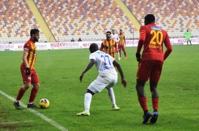 Süper Lig Açıklaması Yeni Malatyaspor Açıklaması 0 - Çaykur Rizespor Açıklaması 1 (İlk Yarı)