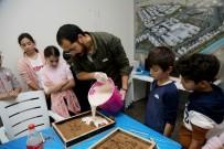 Çağdaş Sanatlar Galerisi'nde Çocuklar İçin Heykel Atölyesi Düzenlendi