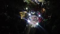 En Uzun Gecede Zorlu Doğa Şartlarıyla Yarışan Sporcular Havadan Görüntülendi