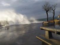 HAVA SICAKLIKLARI - İstanbul'da Şiddetli Rüzgar Nedeniyle Bazı Vapur Seferleri İptal Edildi