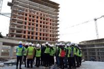 KONUT PROJESİ - Mühendis Adayları Bursa'da Sahaya İndi