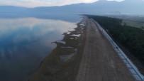 (Özel) Gölbaşı'nın Ardından İznik Gölü'nü De Kuraklık Vurdu