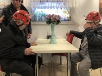 KURTARMA EKİBİ - (Özel) Görme Engelliler Depremi Yaşayarak Neler Yapacaklarını Öğrendi