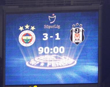 Süper Lig Açıklaması Fenerbahçe Açıklaması 3 - Beşiktaş Açıklaması 1 (Maç Sonucu)