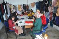 Yüksekovalı Kadınlar Atıl Kumaştan Yeni Kıyafetler Tasarlıyor