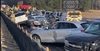 VIRGINIA - ABD'de 69 Araç Birbirine Girdi