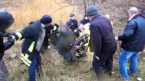 Afyonkarahisar'da Trafik Kazası Açıklaması 1 Yaralı