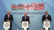 DIŞİŞLERİ BAKANLARI - Azerbaycan, Türkiye, Gürcistan Dışişleri Bakanları 8. Toplantısı Başladı
