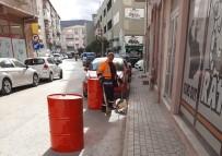 ZEYTIN DALı - Belediyeden Sokak Sokak Temizlik