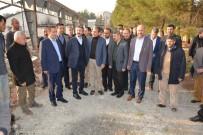 AHMET AYDIN - Milletvekili Aydın, Besni Millet Bahçesinin Yapılacağı Yeri İnceledi