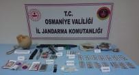DİNAMİT - Osmaniye'de Patlayıcı Ve Uyuşturucu Operasyonu