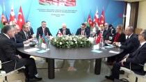 DIŞİŞLERİ BAKANLARI - Türkiye-Gürcistan-Azerbaycan Üçlü Dışişleri Bakanları 8. Toplantısı