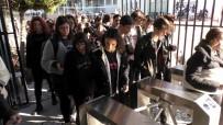 GÜVENLİK SİSTEMİ - Turnikeli Eğitimle Devamsızlık Azaldı, Okul Güvenliği Arttı