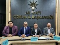 AK Partili Vekiller İl Teşkilatıyla Bir Araya Geldi