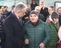 Ulaştırma ve Altyapı Bakanı - Ankara'dan Konya'ya Gelen Özel Gereksinimli Misafirleri Protokol Karşıladı