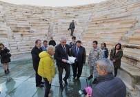 ARKEOLOJI - Bakan Ersoy, Patara'da İncelemelerde Bulundu