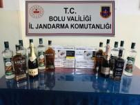 Bolu'da, Kaçak İçki Ve Sigara Operasyonu Açıklaması 2 Gözaltı