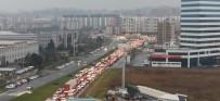 POLİS İMDAT - Bursa'da Trafik Resmen Durdu