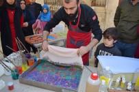 Çocuklarla ''Ebru Sanatı'' Çalışması