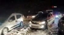 GÜNCELLEME - Kar Nedeniyle Kahramanmaraş-Kayseri Kara Yolu Ulaşıma Kapandı