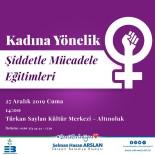 Kadına Yönelik Şiddetle Mücadele İçin Eğitim
