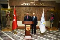 AYDIN VALİSİ - Kamu Başdenetçisi Malkoç, Vali Köşger'i Ziyaret Etti