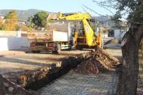 Kemer Göynük'te Kanalizasyon Çalışması