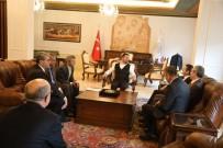 Orman Bölge Müdürü Çapkın, Belediye Başkanı Arı'yı Ziyaret Etti