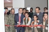 Şemdinli'de 'Görsel Sanatlar Ve Müzik Sınıfı' Açıldı