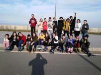 ŞENOL GÜNEŞ - Trabzon Paten Kulübü Yarı Maratona Hazırlanıyor