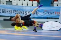 TAHA AKGÜL - Türkiye Grekoromen Güreş Şampiyonası Devam Ediyor