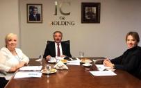 AİÇÜ Rektörü Prof. Dr. Karabulut, IC Vakfı Yöneticileri İle Bir Araya Geldi