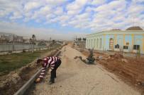 SAHİL YOLU - Cizre Belediyesi'nden Üstyapı Çalışmaları