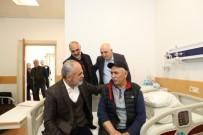 12 EYLÜL - Cumhurbaşkanı Başdanışmanı Topçu'dan Eski Dava Arkadaşına Ziyaret