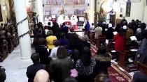 ORTODOKS KILISESI - Gazze'deki Hristiyanlar, Noel Münasebetiyle Ayin Düzenledi