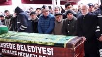 Gerede'de Vefat Eden 103 Yaşındaki Emekli İmam, Görev Yaptığı Türbeye Defnedildi