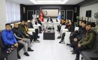 MUSTAFA DOĞAN - Kilisli Sporcular Şampiyonluk Sevincini Rektör Karacoşkun'la Paylaştı