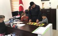 Minik Öğrenciler Jandarma Komutanıyla Oyun Oynadı