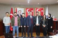 SİYASAL BİLGİLER FAKÜLTESİ - Öğrencilerinden Başkan Yanmaz'a Ziyaret