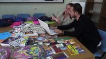 BELEDİYE ÇALIŞANI - Tek Başına Başladığı Yardım Kampanyasını Büyüterek 100 Okula Ulaştı