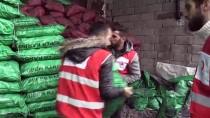 Türk Kızılay Kara Kışta İhtiyaç Sahiplerinin Yardımına Koşuyor