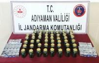ŞÜPHELİ ARAÇ - Adıyaman'da Kaçak İçki Ele Geçirildi