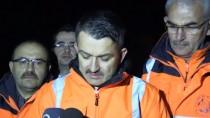 İSMAIL USTAOĞLU - Bakan Pakdemirli Örtü Yangınlarının Sürdüğü Trabzon'da İncelemelerde Bulundu Açıklaması
