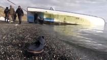 ONKOLOJİ HASTANESİ - Bitlis'te Alabora Olan Tekne Gölden Çıkarıldı