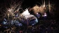 Bolu'da Otomobil Şarampole Devrildi Açıklaması 5 Yaralı